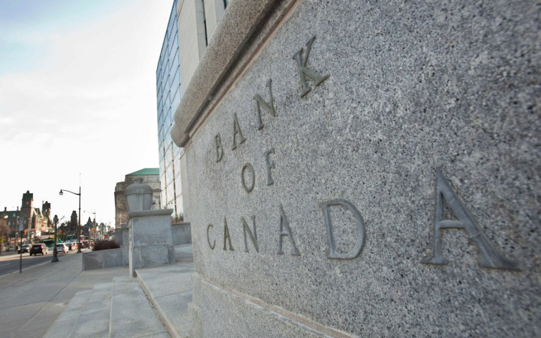 First Bank of Canada increase in Seven Years!